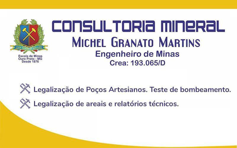 Consultoria Mineral - Michel Granato