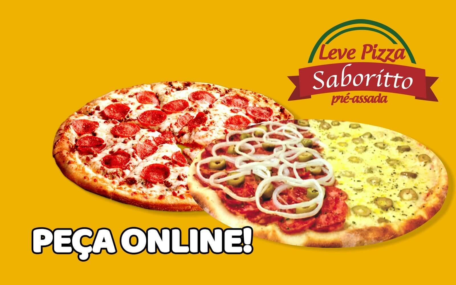 Leve Pizza Saboritto Pré-Assada