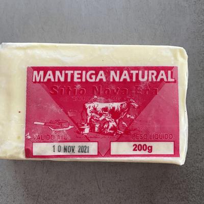 Manteiga Tablete Nova Era 200g