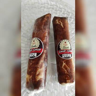 Chup-Chup Ninho com Nutella