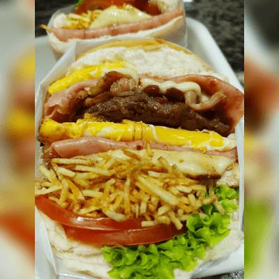 X-Salada Bacon