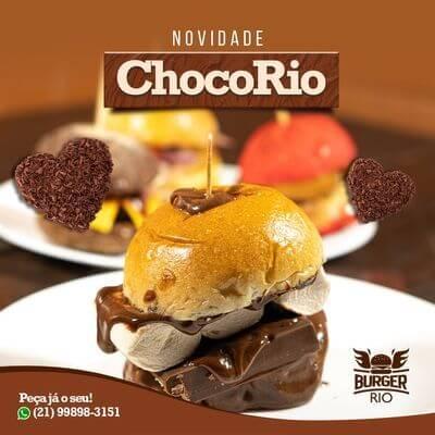 Mini Burger ChocoRio (Unidade)