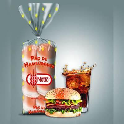 Pão de Hambúrguer Netto 500g