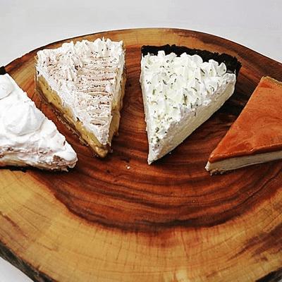 Promoção do dia: Combo 5 Fatias de Torta Gourmet