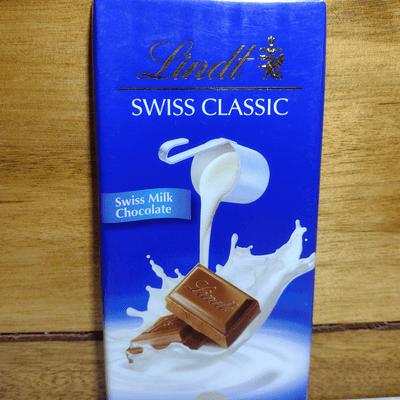 Chocolate Suíço Lindt Milk - 100g