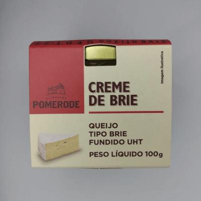 Temperos, Molhos e Condimentos: Creme de Brie - 100g