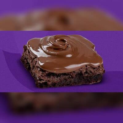 Creme da Felicidade - Brownie + Nutella