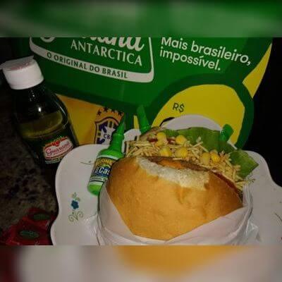 Cheddar Calabresa + Refrigerante Mini 250ml + Maionese D'Casa
