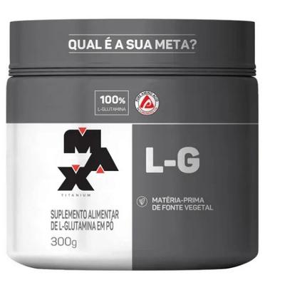 L- Glutamina 150g Max Titanium