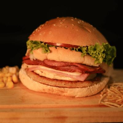 X-Egg Bacon Delícia