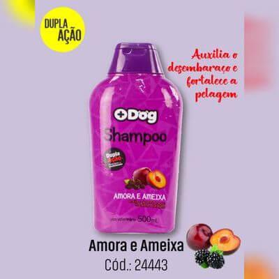 Shampoo Mais Dog 500ml Amora e Ameixa