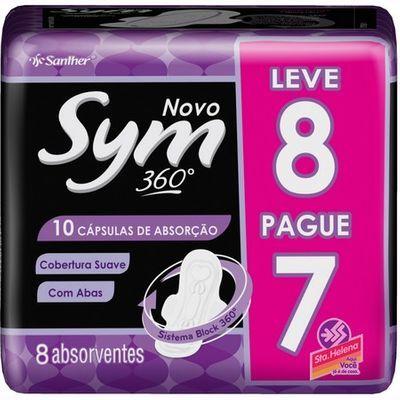 Absorvente Sym Suave c/8