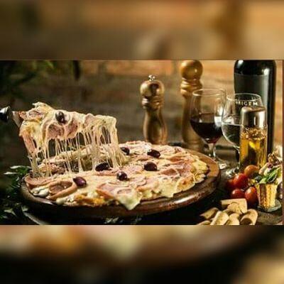 Pizzas Tradicionais - Médias
