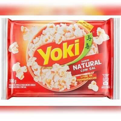 Pop Corn P/ Microondas Yoki - 100g