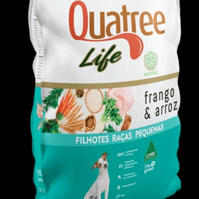 Quatree Life filhotes 1kg a granel