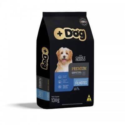 Ração Mais Dog Premium Especial sem corantes filhotes Carne e frango 13kg