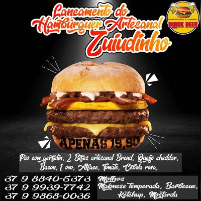 Lançamento do Hambúrguer Artesanal Zuíudinho