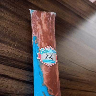 Blue Ice com Nutella