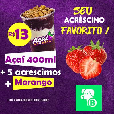 Açaí 440ml + Morango GRÁTIS