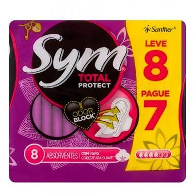 Absorvete Sym Total Protect Leve 8 Pague 7