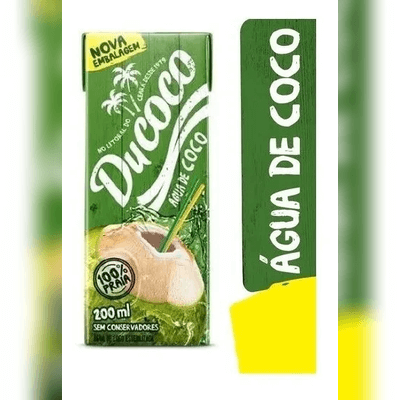 Água de Coco Ducoco 200ml