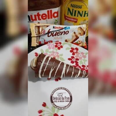 Leite Ninho com Nutella e Bueno kider