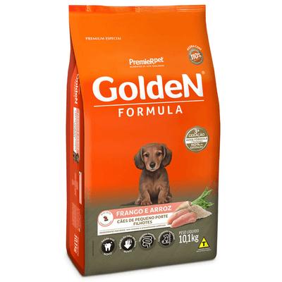 Golden Cães Filhotes Pequeno Porte 1KG
