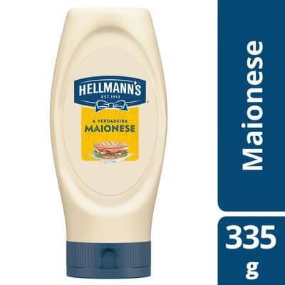 Maionese Hellmans 335g Bisnaga