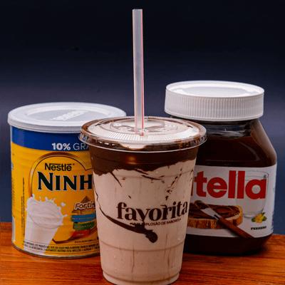 Milk Shake Ninho com Nutella