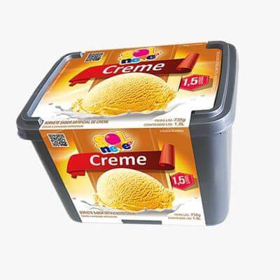 Pote Creme Amarelo - 1,5L