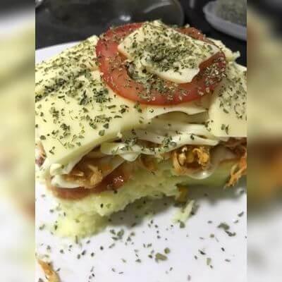 Pizza Frango com Calabresa