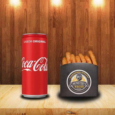 Onion Rings + Refrigerante ou Suco