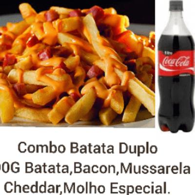 Combo Batata Duplo + Coca Cola 1L