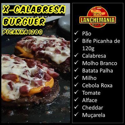 X -  Calabresa Burguer