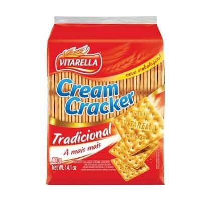 Biscoito Cream Cracker Vitarella 400g