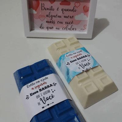 Barra de Chocolate Caseira de Limão - 300g