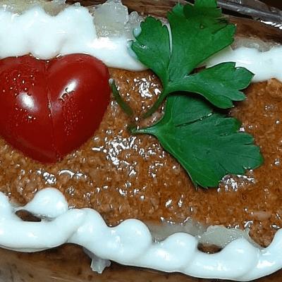 13 - Batata Recheada/ Bolonhesa