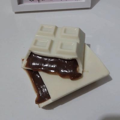 Barra de Chocolate Caseira de Brigadeiro - 300g