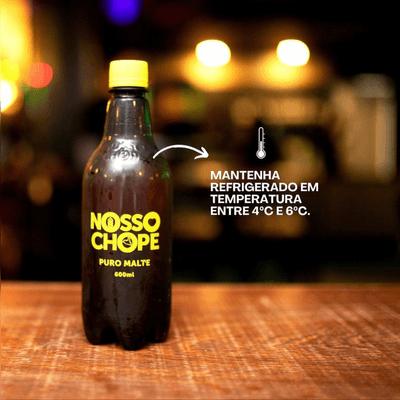 NOSSO CHOPE PURO MALTE 600 ML