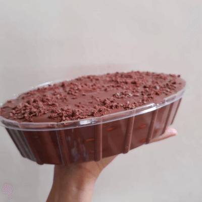 Torta de Biscoito de Chocolate
