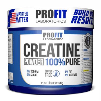 Creatina 100% (300 gramas)