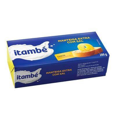 Manteiga Itambé 200g