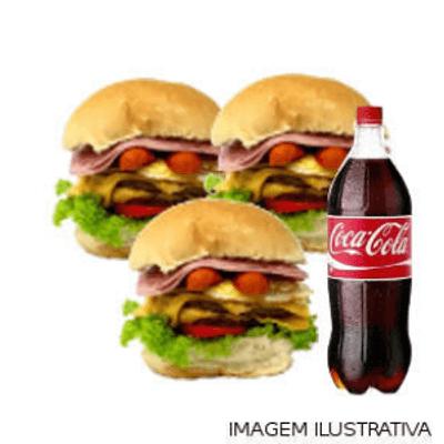 Combo 3 Du Bravo Tudo + Coca Cola 1L