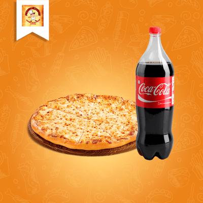 Combos: Pizza Grande A Moda + Coca Cola 2L