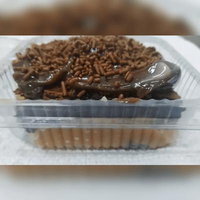 Brownie Recheado com Cobertura 2