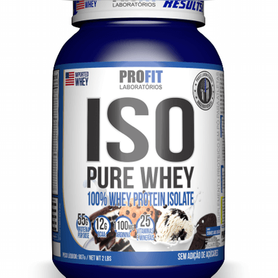 ISO PURE WHEY (55g de proteínas por dose)
