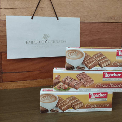 Biscoito Italiano Loacker G Pasti Capuccino - 100g