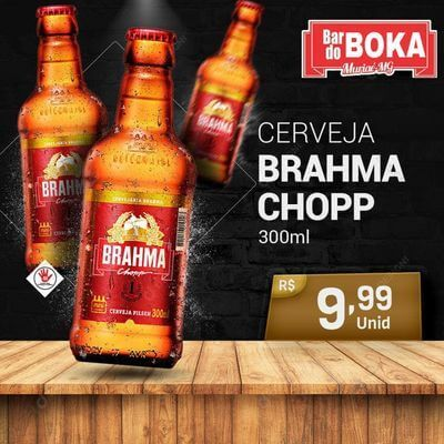 3 Brahma Retornável | 300ml