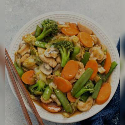 Chop Suey Vegetariano Individual