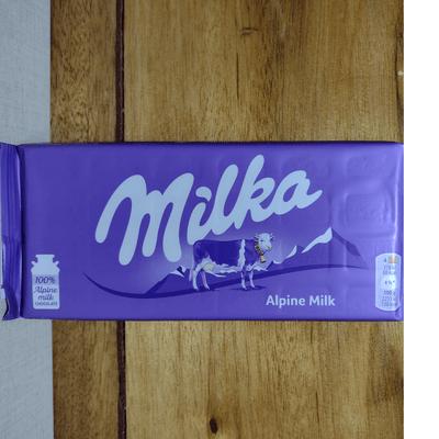 Chocolate Milka Alpine Milk  - 100g